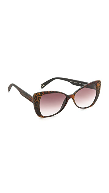 Italia Independent Large Butterfly Sunglasses