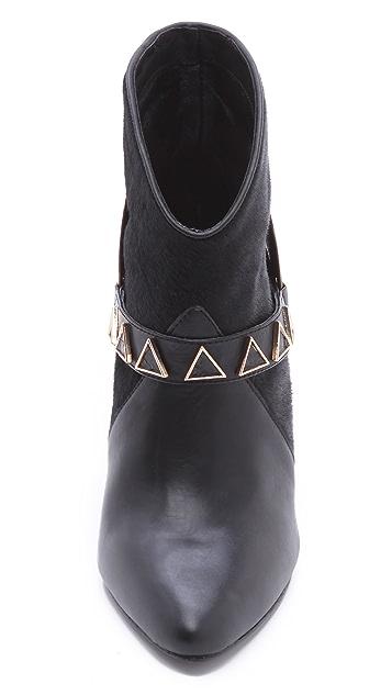 Ivy Kirzhner Caballero High Heel Harness Booties