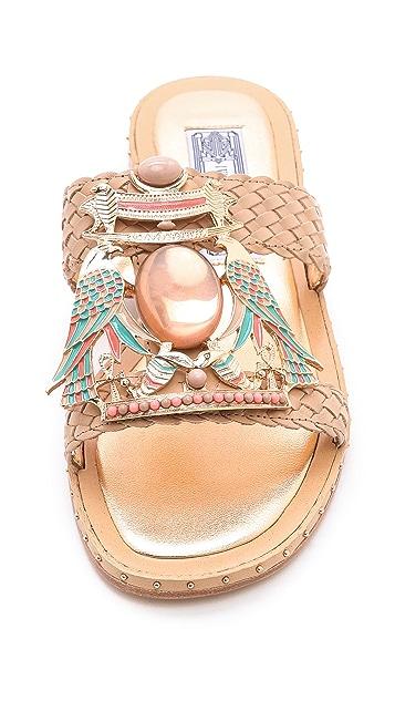 Ivy Kirzhner Tutankaman Slide Sandals