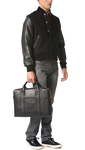 Jack Spade Mason Leather Davis Briefcase