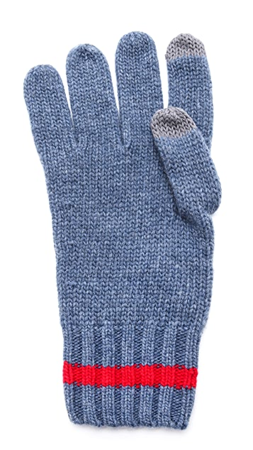 Jack Spade iPhone Knit Gloves