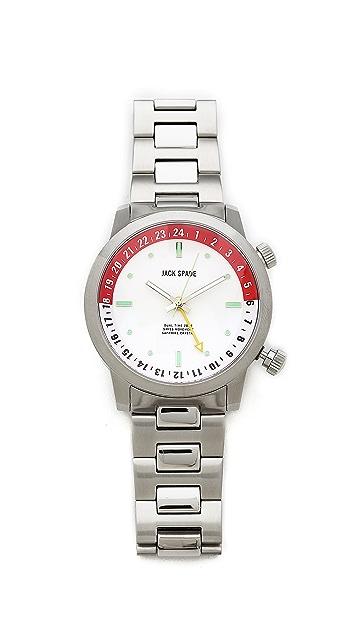 Jack Spade Clarkson White Watch