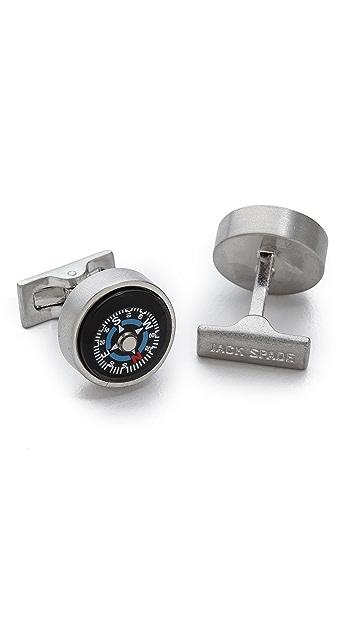 Jack Spade Compass Cufflinks