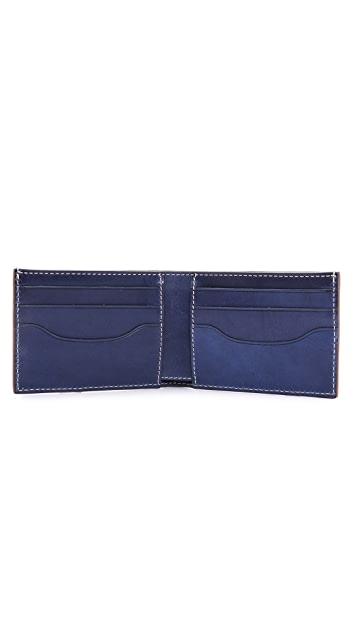 Jack Spade Mitchell Leather Index Wallet