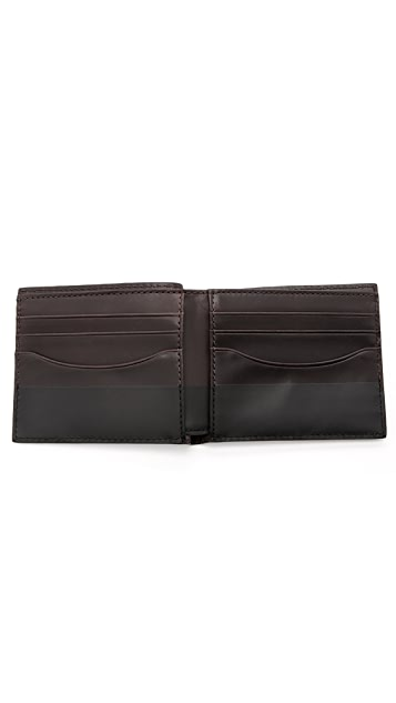 Jack Spade Dipped Leather Bill Holder