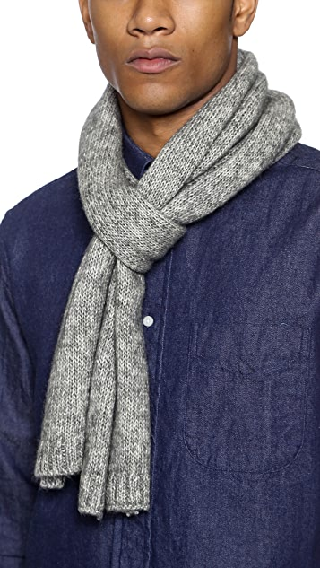 Jack Spade Gallagher Brushed Scarf