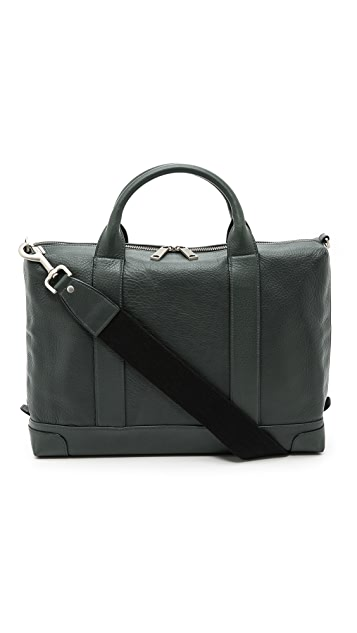 Jack Spade Bristol Leather Charter Briefcase