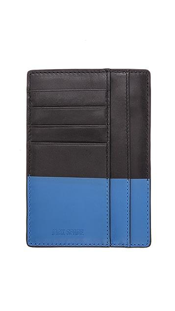 Jack Spade Dipped Slim Passport Wallet