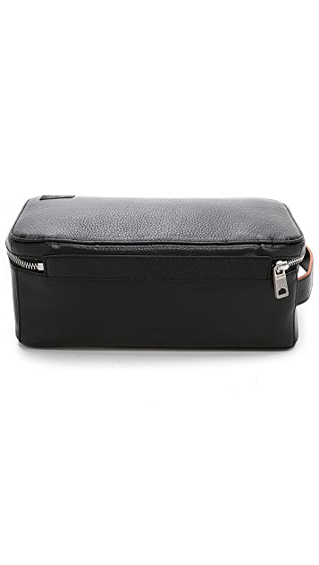 Jack Spade Mason Leather Travel Kit