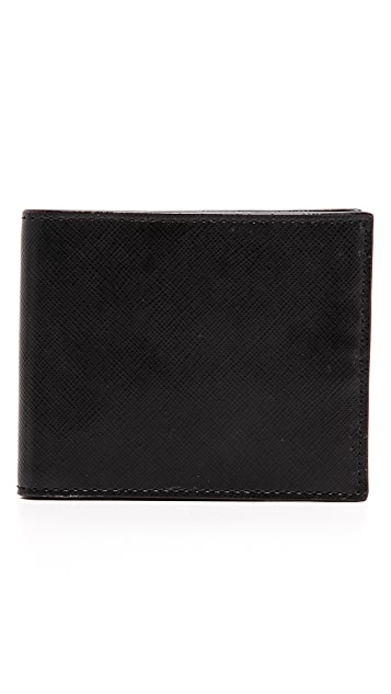 Jack Spade Wesson Leather Wallet