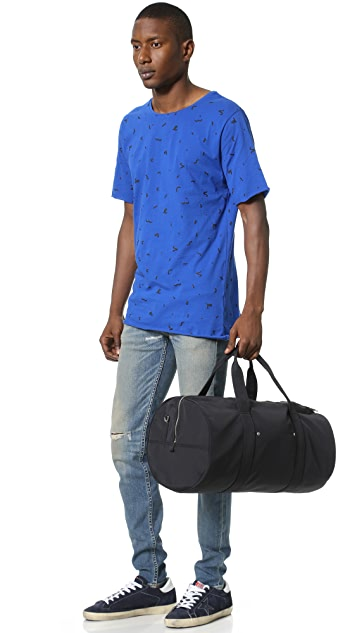 Jack Spade Tech Nylon Gym Duffel Bag