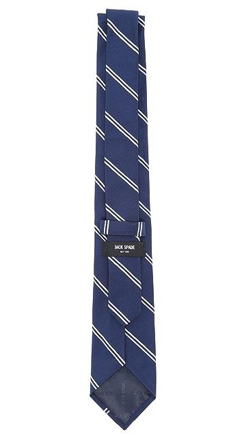 Jack Spade Mogador Twin Stripe Tie