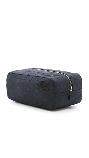 Jack Spade Quilted Nylon Toiletry Kit