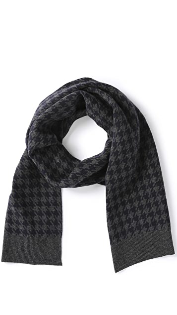 Jack Spade Beacon Houndstooth Scarf