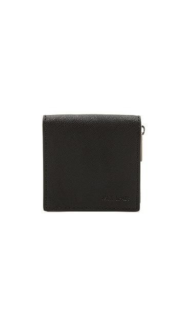 Jack Spade Barrow Leather Coin Wallet