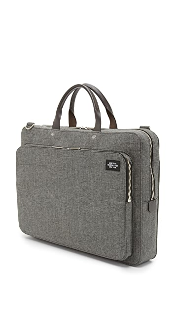 Jack Spade Tech Oxford Slim Supply Briefcase