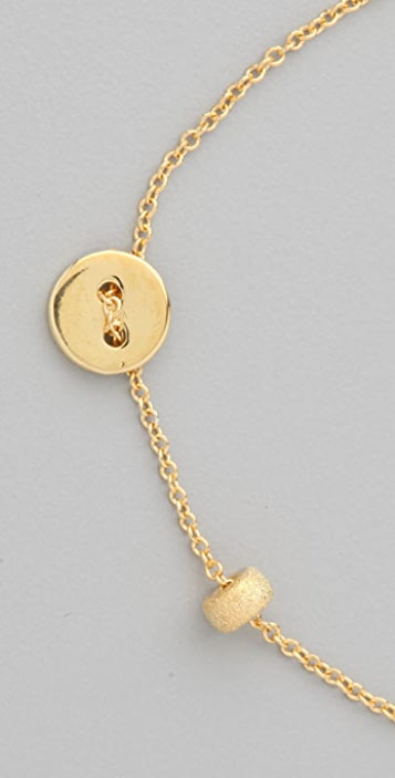 Jacquie Aiche Button Bracelet