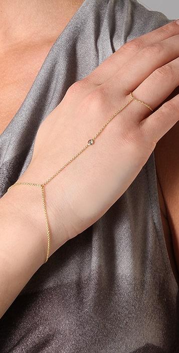 Jacquie Aiche Hand Chain Bracelet