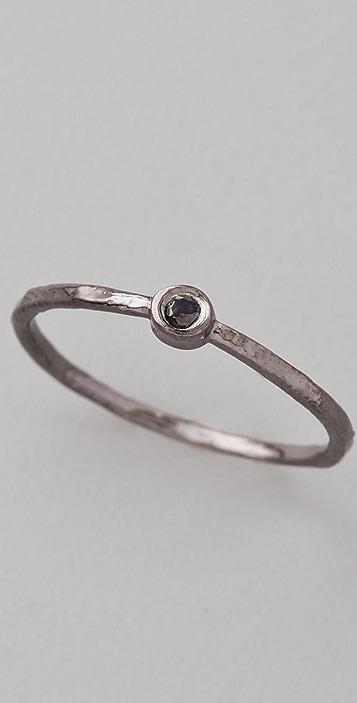 Jacquie Aiche Black Diamond Waif Ring