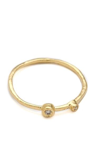 Jacquie Aiche JA Double Diamond Waif Ring