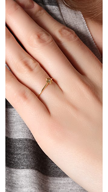 Jacquie Aiche JA Diamond Mini Star Waif Ring