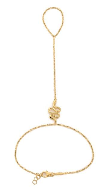 Jacquie Aiche JA Snake Chain Finger Bracelet