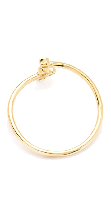 Jacquie Aiche JA Bezel Wrap Waif Ring