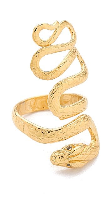 Jacquie Aiche JA Extra Long Snake Ring