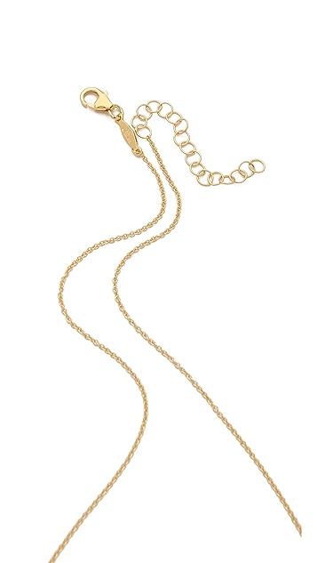 Jacquie Aiche JA Marquis Shape Necklace