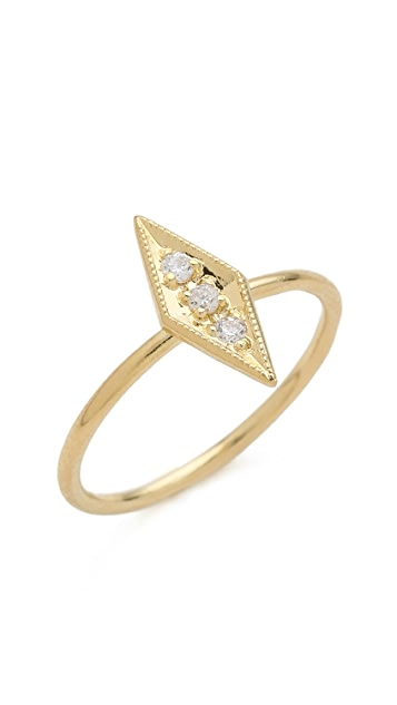 Jacquie Aiche JA Vertical Kite Waif Ring