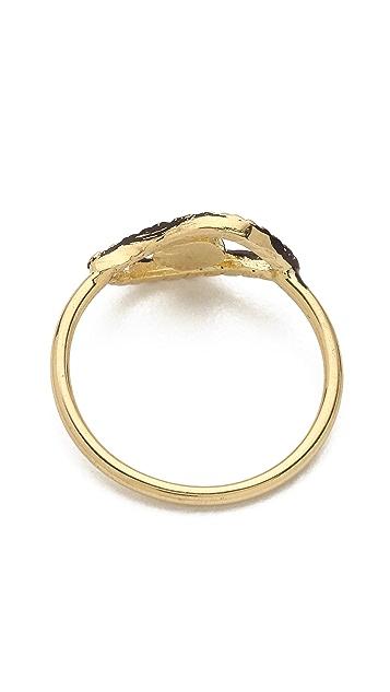 Jacquie Aiche JA Turquoise Eye Waif Ring