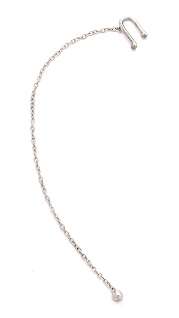 Jacquie Aiche JA Ear Cuff with Chain