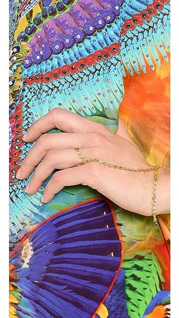 Jacquie Aiche JA Disco Hand Chain