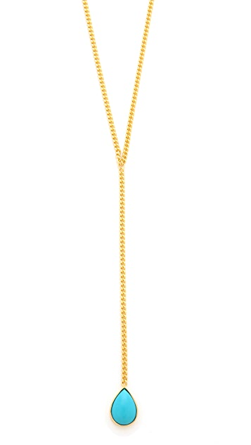 Jacquie Aiche JA Teardrop Y Necklace