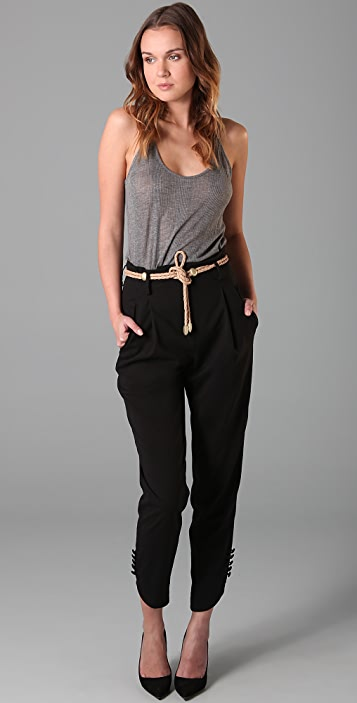 James Jeans James Icon Bogart High Waisted Trousers