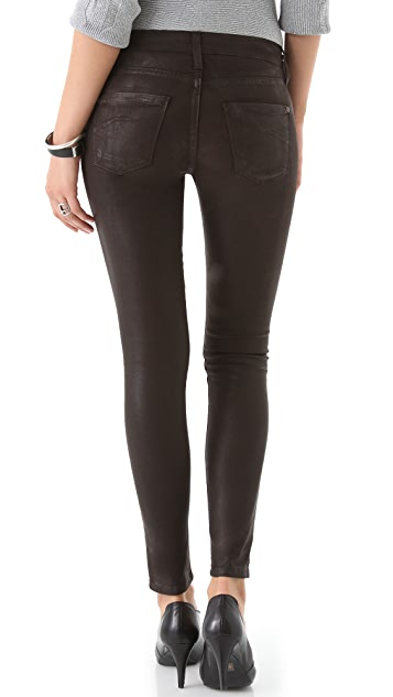 James Jeans Twiggy Slicked Super Skinny Jeans