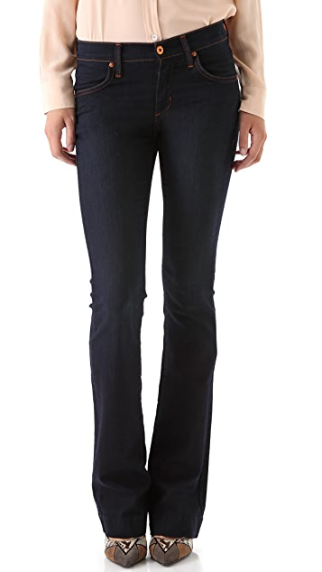 James Jeans Slim Leg Trumpet Flare Jeans