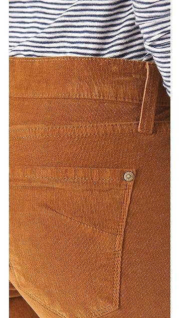 James Jeans Slouchy Fit Boyfriend Corduroy Pants