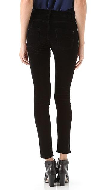 James Jeans Twiggy Velveteen Leggings