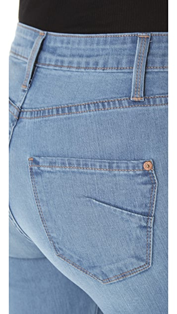 James Jeans High Rise Wonder Skinny Jeans