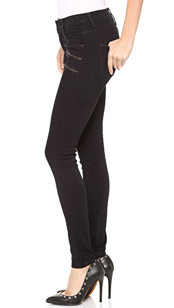 James Jeans Crux Skinny Jeans with Double Zip