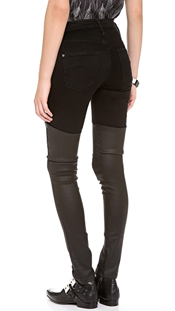 James Jeans Dietrich Jeather Thigh High Jeans