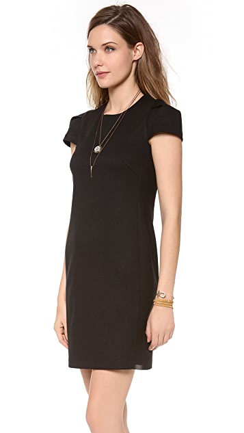 James Jeans Cap Sleeve Mini Dress