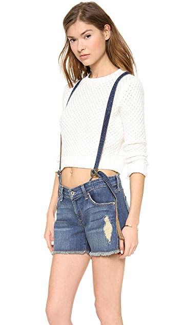 James Jeans Corky Suspender Boy Shorts