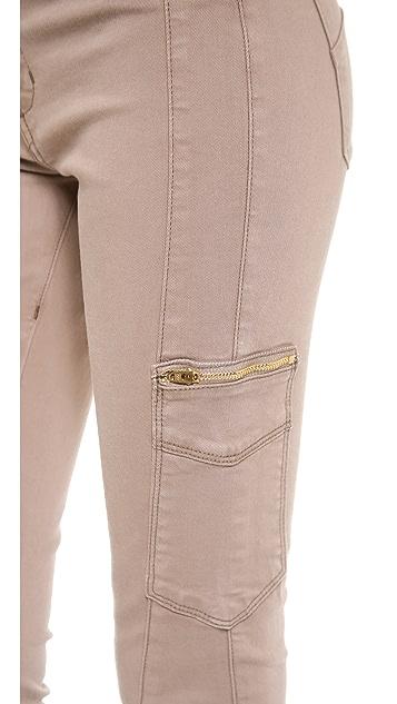 James Jeans Twiggy Racer Zip Pocket Skinny Jeans