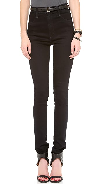 James Jeans Super High Rise Skinny Jeans