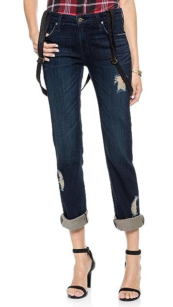 James Jeans Buddy Boyfriend Suspender Jeans