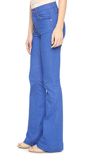 James Jeans Shayebel High Rise Flare Jeans
