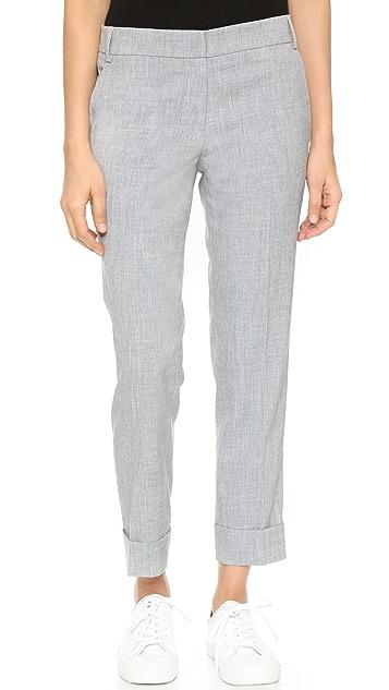 James Jeans Брюки с напуском и манжетами