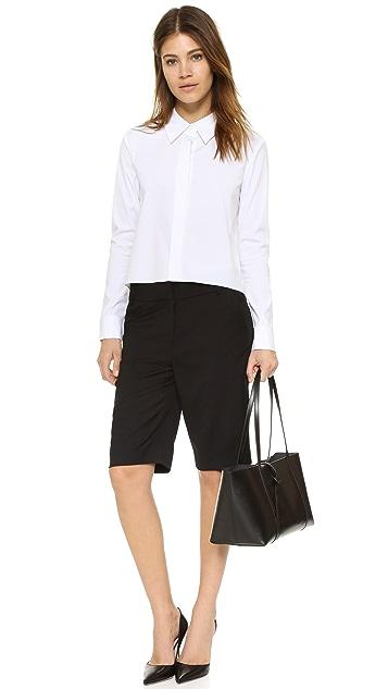 James Jeans Шорты-бермуды Clean Front в стиле брюк